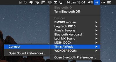 how to pair airpods with your mac