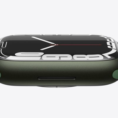apple watch series 7 green