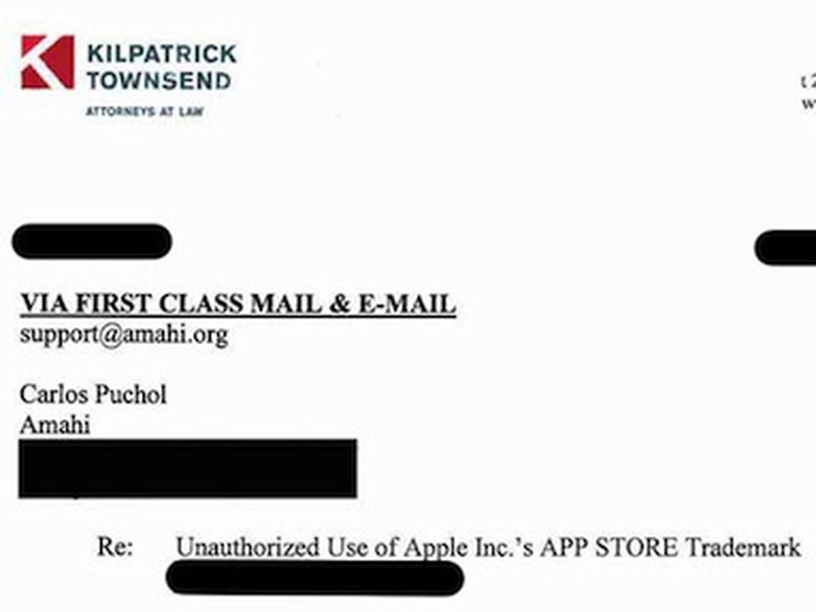Patent Infringement Cease And Desist Letter Sample from images.macrumors.com