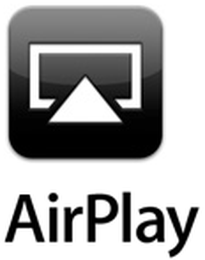 Apple  iPad  Stream movies and music wirelessly with AirPlay