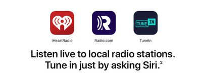 homepod live radio