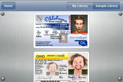 drivers license app