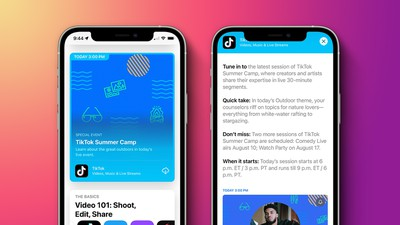 App Store Events iOS 15 Feature