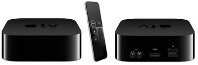 apple tv 4k siri remote front back