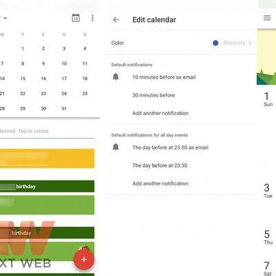 google calendar ios