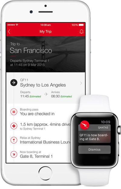 Qantas Airways Apple Watch