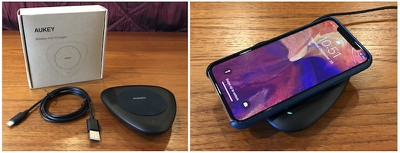 charger aukey lc q1