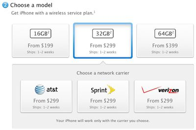 iphone 4s shipping us 1 2 weeks