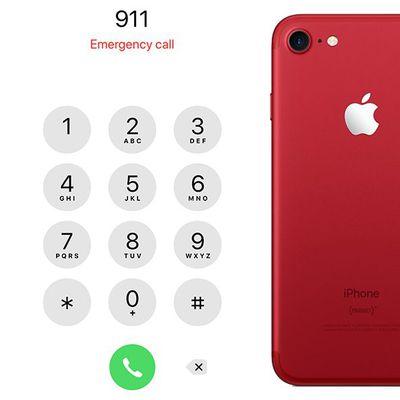 emergency iphone