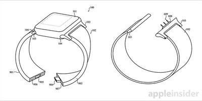 Apple Watch smart band patent