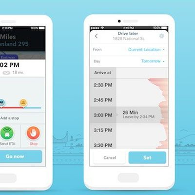 Waze planned drives feature
