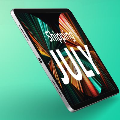 iPad Pro July Shipping