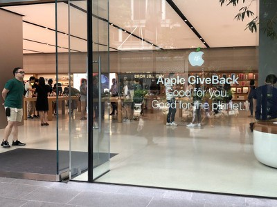 apple store earth day