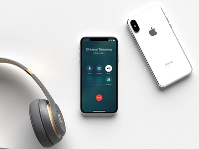 iphone x speakerphone call handsfree