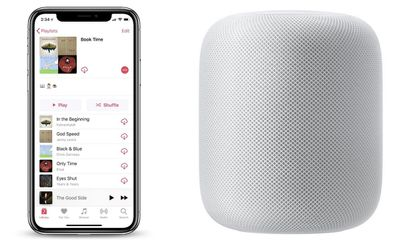 homepod book time playlist