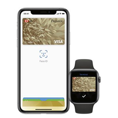 iphone apple watch hsbc apple pay france