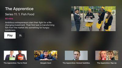 BBC iPlayer POC 2