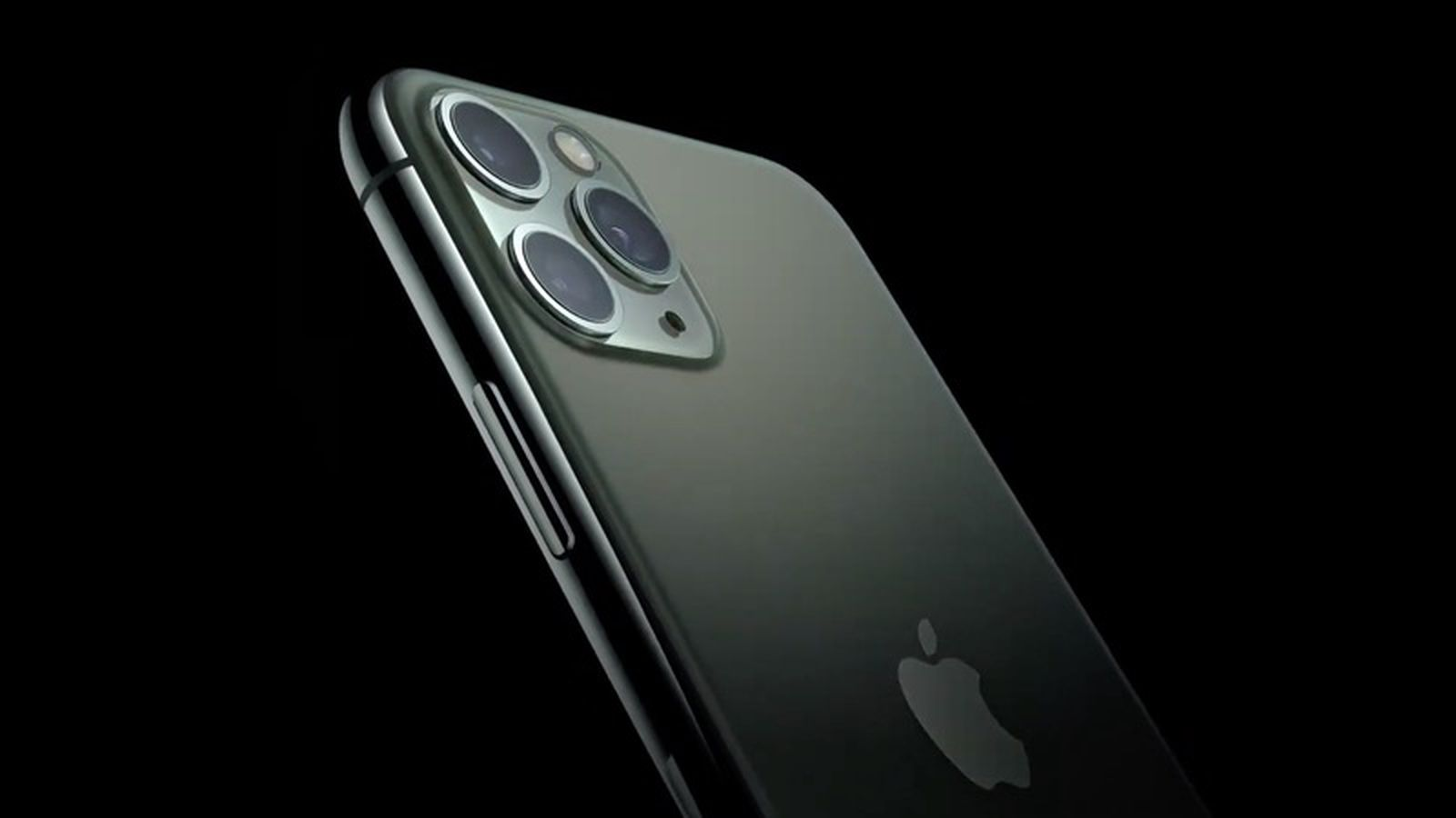 Apple Announces Iphone 11 Pro And Iphone 11 Pro Max With Triple Lens Rear Camera And Midnight Green Color Macrumors