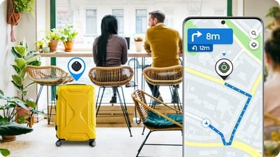 Samsung smarttags app tracking