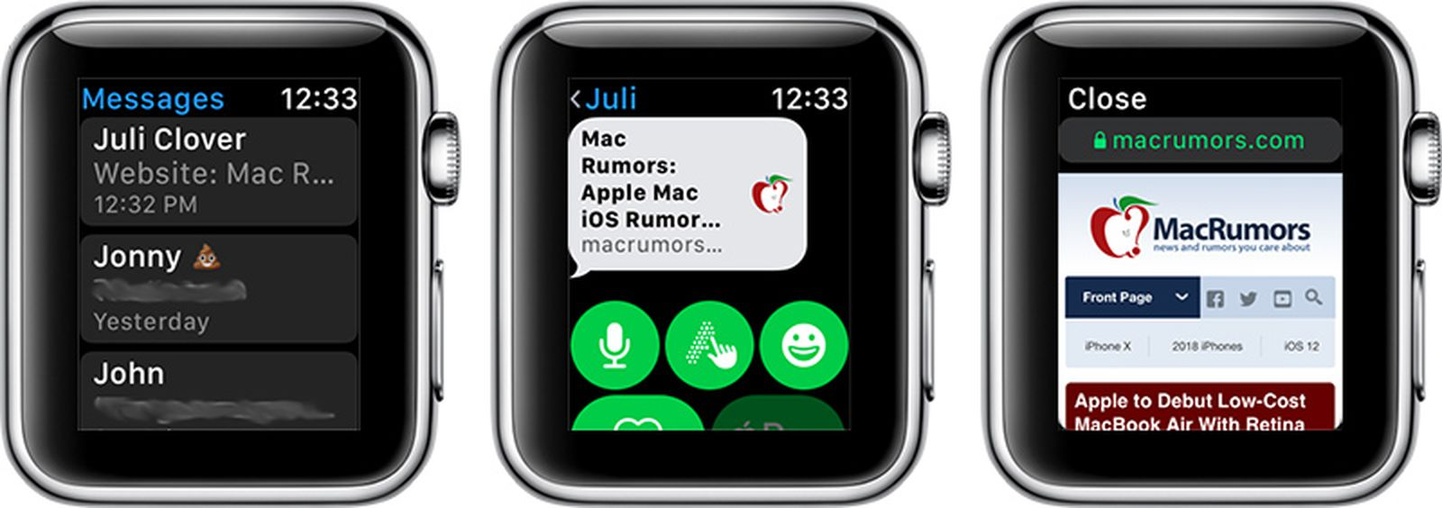 How To Browse The Internet On Apple Watch Through Watchos 5 S Webkit Integration Macrumors