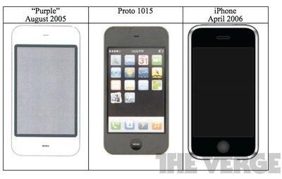 purple iphone prototype