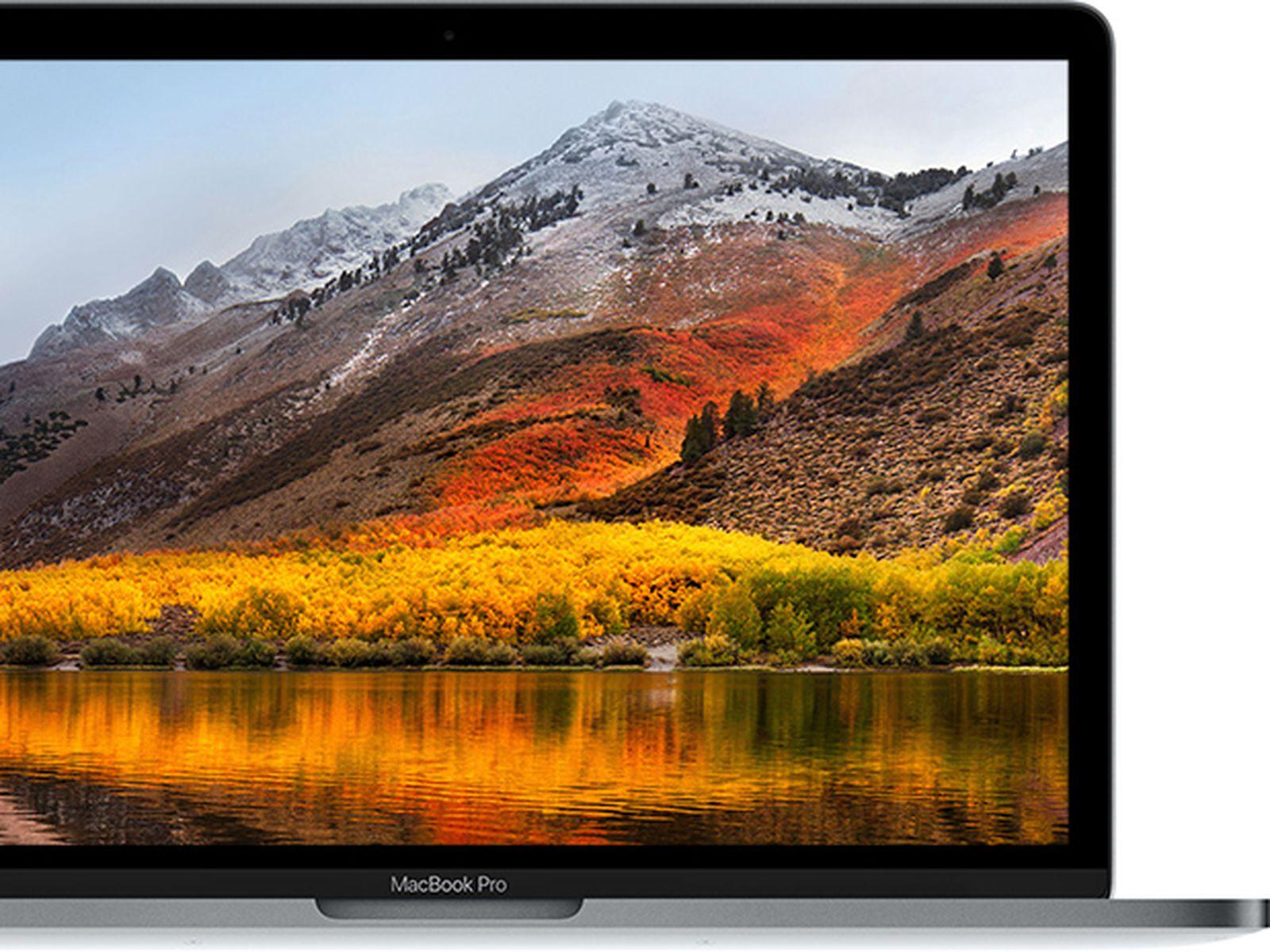 Update to mac high sierra