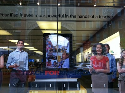 ipad teach for america window