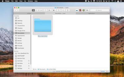screenshot save location 1