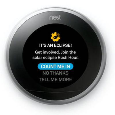 nest eclipse time