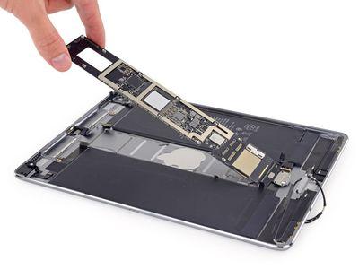 iFixit 10 5 inch ipad pro teardown logic board