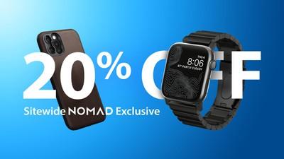 nomad 20 percent off exlusive 5