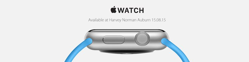 apple-watch-harvey-norman