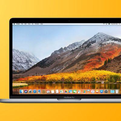 2017 2018 macbook pro yellow feature