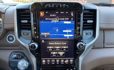 ram 1500 split screen select