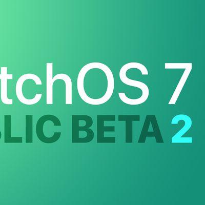 watchOS public beta 2 Feature