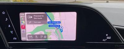 2021 escalade carplay maps