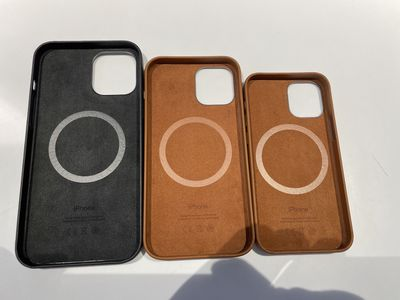 iphone12 leather case hands on 4