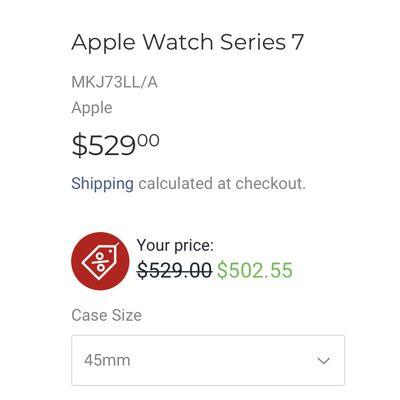 apple watch 7 expercom