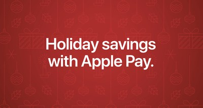 apple pay holiday promo 2018