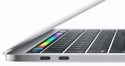 thunderbolt 3 ports macbook pro