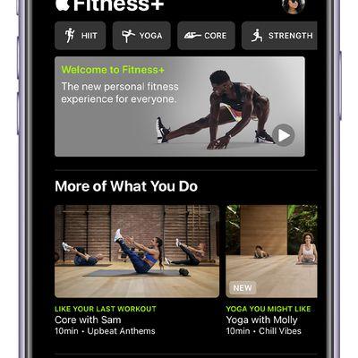 ios14 iphone 11 fitness fitness plus