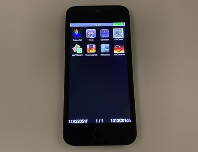 iphone 5s black slate front
