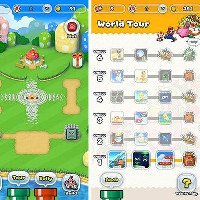 super mario run screenshots 3