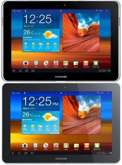 galaxy tab 10 1 n comparison