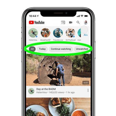 youtube topics ios app