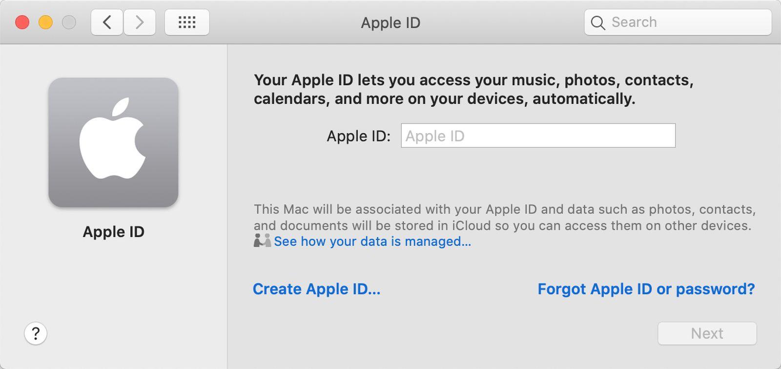 How to Create an Apple ID on Mac   MacRumors