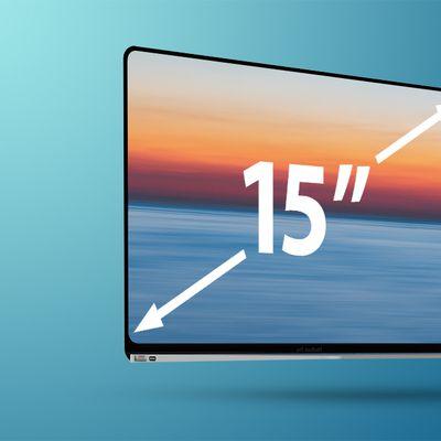 Flat MacBook Air 15 Feature