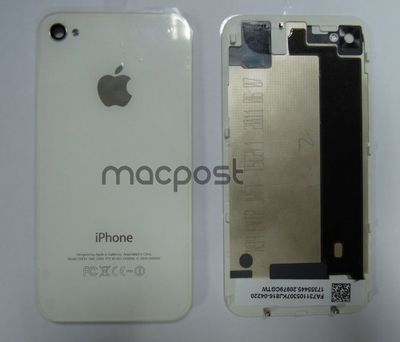 iPhone 5G Back Cover White