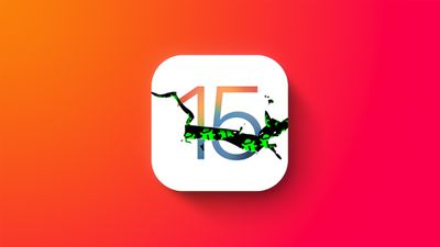 iOS 15 Buggy feature