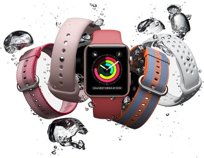 apple watch 3 splash